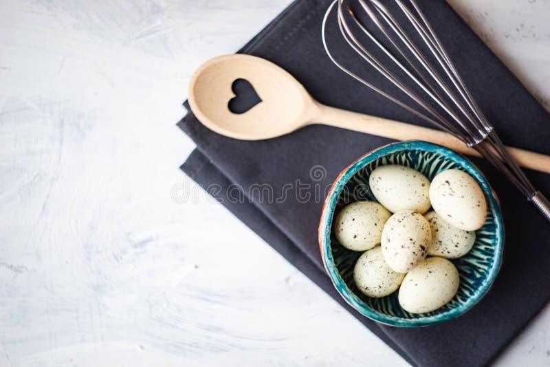 Варить концепцию с яйцами стоковое изображение rf