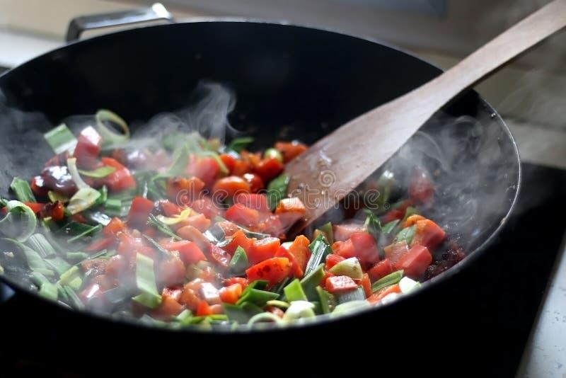 Варить овощи стоковые фотографии rf
