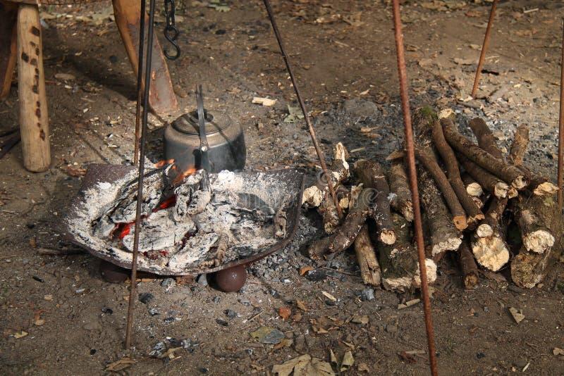 Варить огонь стоковая фотография rf