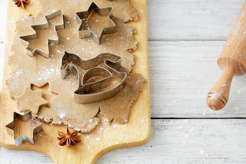 Варить печенья xmas стоковые фото