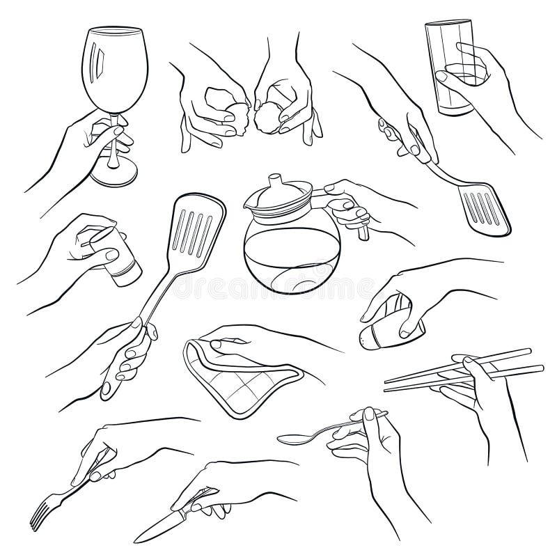 Варить планы рук бесплатная иллюстрация