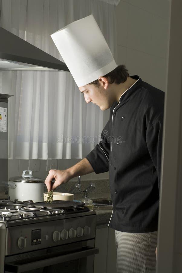 варить шеф-повара стоковое фото rf