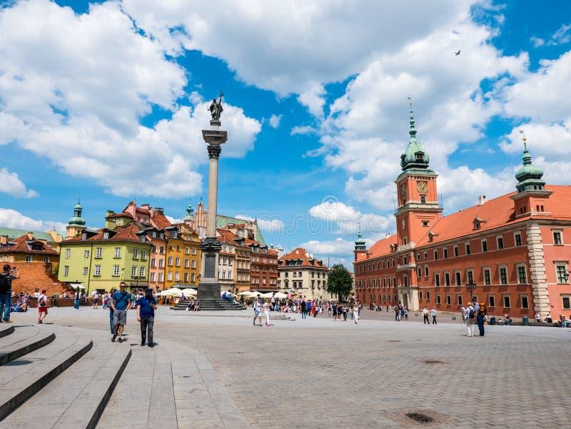 Варшава, Польша стоковые изображения