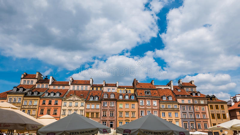 Варшава, Польша стоковое изображение rf