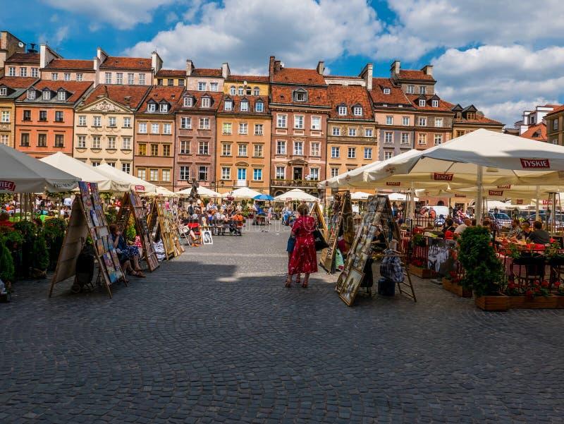 Варшава, Польша стоковое фото