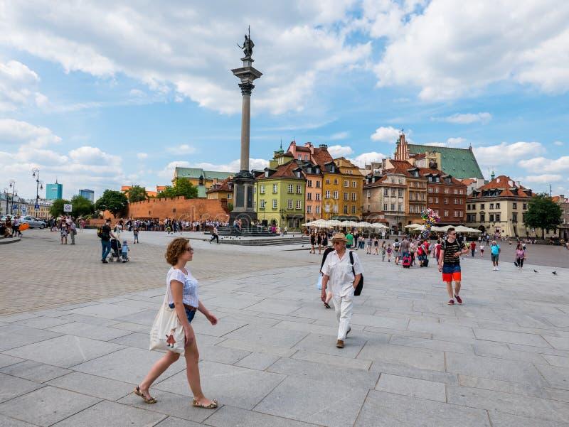Варшава, Польша стоковое фото rf