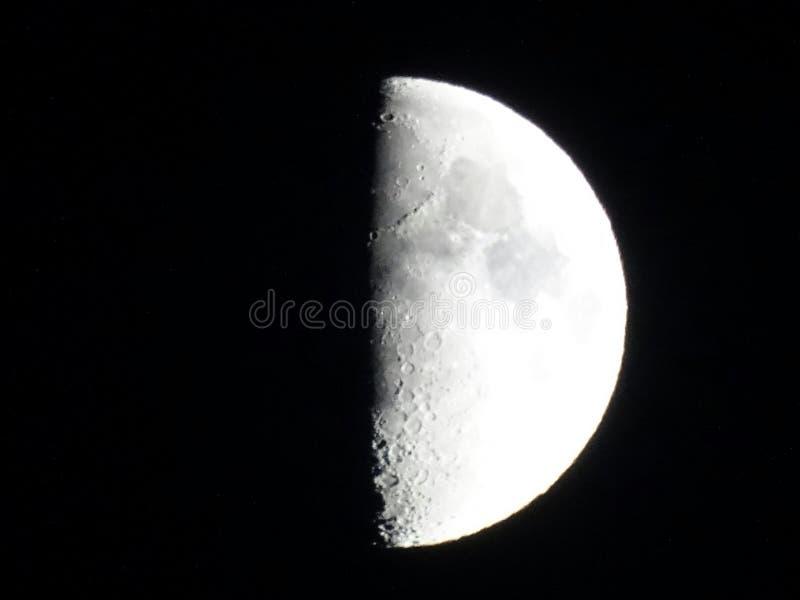 вау ночи луны холодное стоковые фото