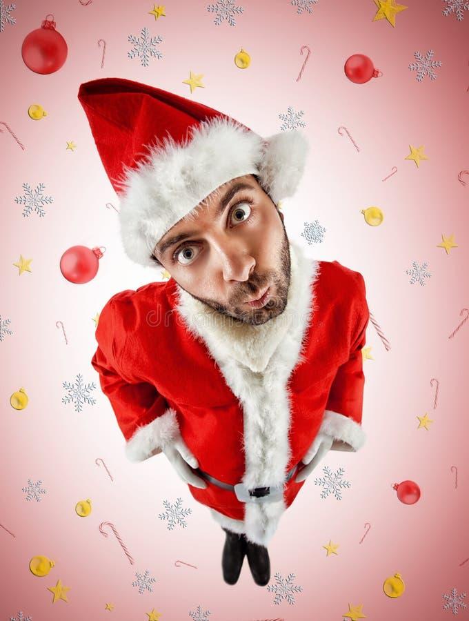 ВАУ Санта Клаус стоковое изображение