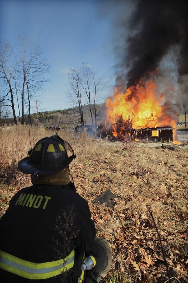 вахта пожара стоковое изображение
