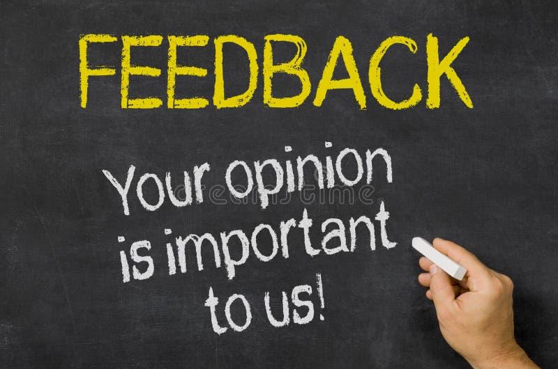 Ваше мнение важно к нам стоковые фотографии rf