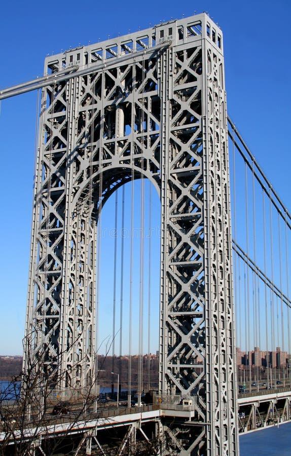 вашингтон башни george моста стоковое фото