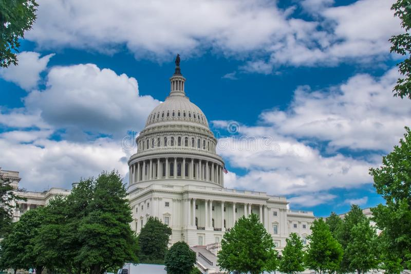 Вашингтон, Белый Дом Символ Америки стоковые изображения rf