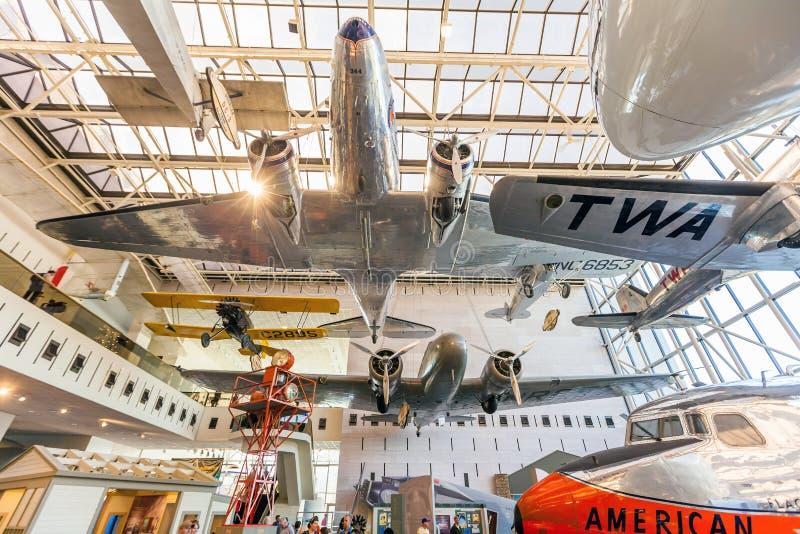 вашингтон космоса музея воздуха национальный стоковое фото rf