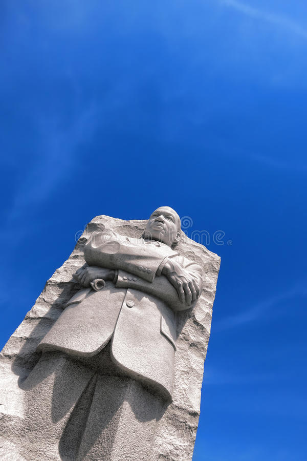 вашингтон мемориала Др. младшего короля luther martin dc стоковое изображение