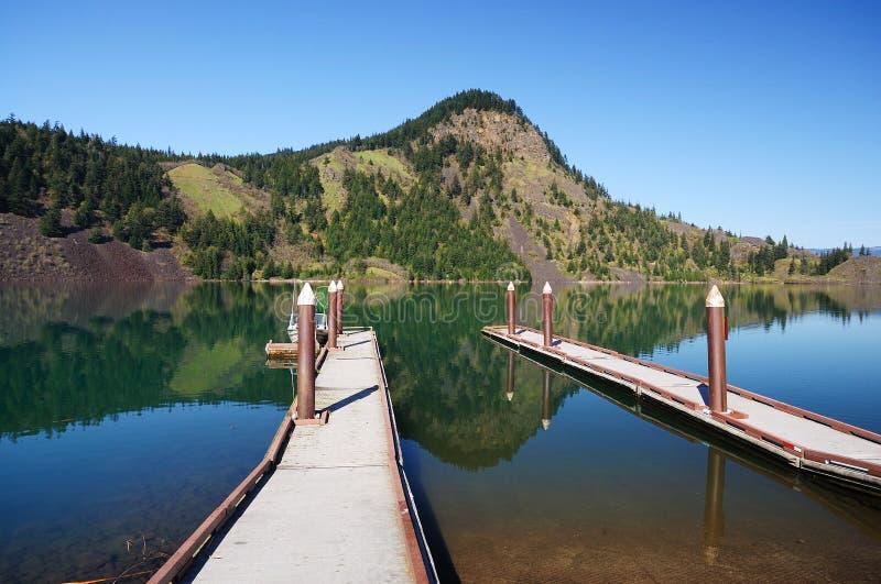 вашингтон озера drano стоковое изображение