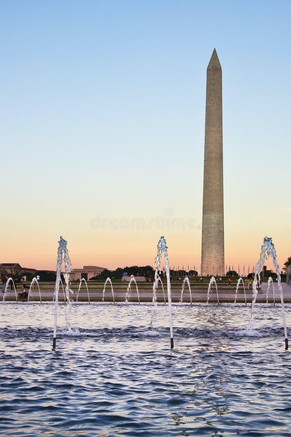 вашингтон памятника dc стоковые изображения rf