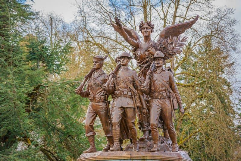 Вашингтон подогнал памятник победы стоковое изображение