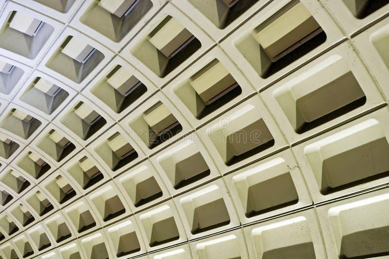 вашингтон стены подземки dc стоковое фото rf
