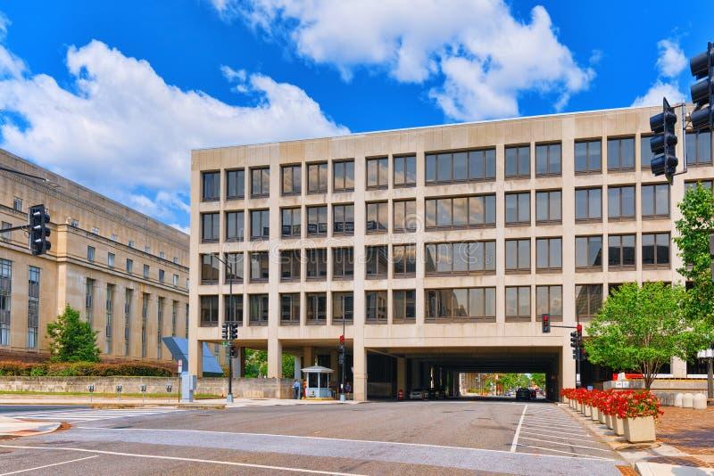 Вашингтон, США, министерство труда Соединенных Штатов стоковые изображения