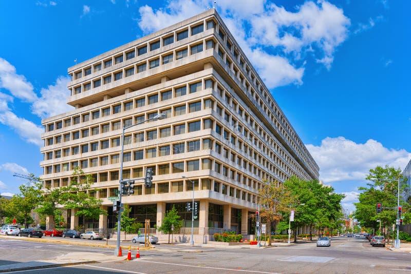Вашингтон, США, министерство труда Соединенных Штатов стоковая фотография