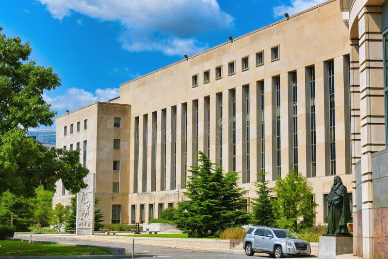 Вашингтон, США, окружной суд e Stat Barrett Prettyman объединенный стоковые фото