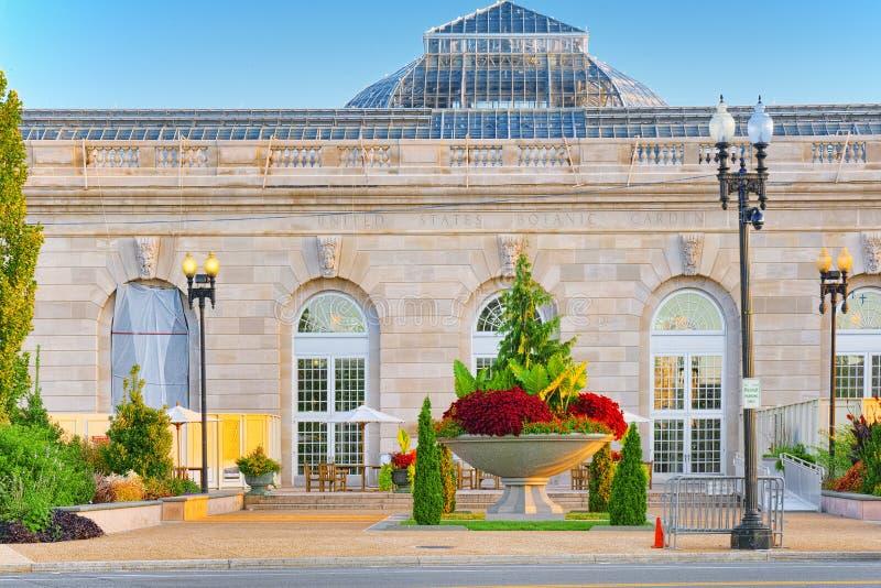 Вашингтон, США, сад Соединенных Штатов ботанический стоковые фото