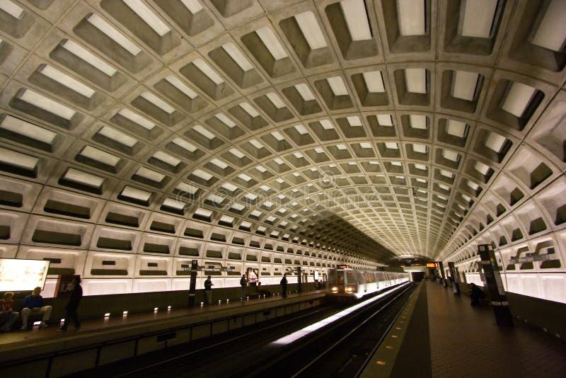 вашингтон тоннеля метро c d стоковая фотография