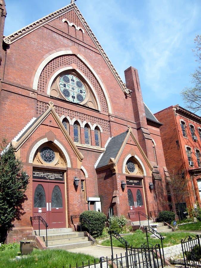 Вашингтон церковь 2010 Luther мемориальная стоковое фото