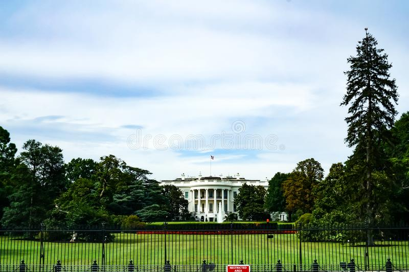 Вашингтон, DC, США 08 18 2018 Экстерьер купола капитолия США подробно конец вверх день стоковые фотографии rf