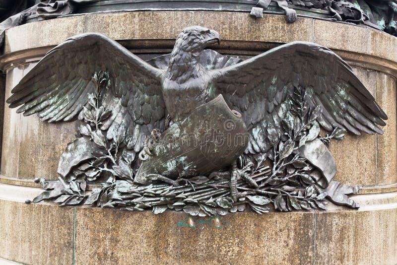вашингтон philadelphia памятника george стоковая фотография