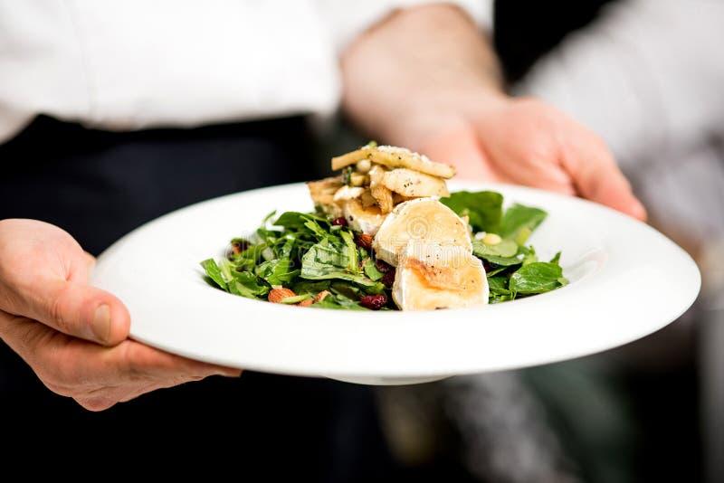 Ваш салат готовый господин стоковое фото rf