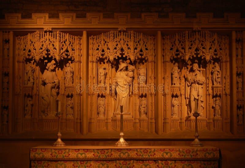 ваяемое предпосылки алтара богато украшенный стоковые фото