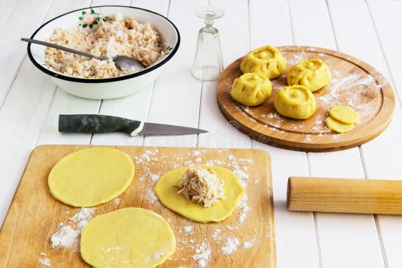 Ваяйте русскую концепцию kurniki пирогов стоковое фото rf
