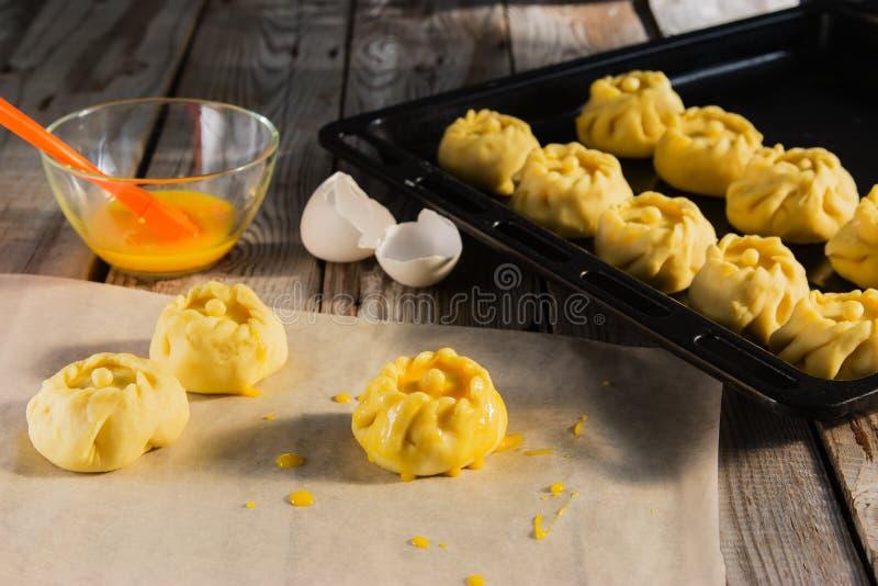 Ваяйте русскую концепцию kurniki пирогов стоковые изображения rf
