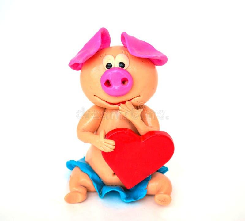 Ваяйте свинью настолько милую стоковые фото