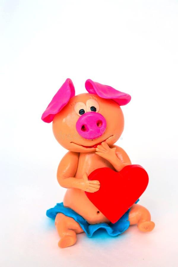 Ваяйте свинью настолько милую стоковое фото rf