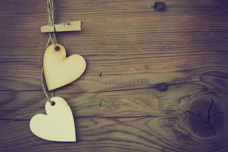 Валентайн сердец 2 стоковая фотография