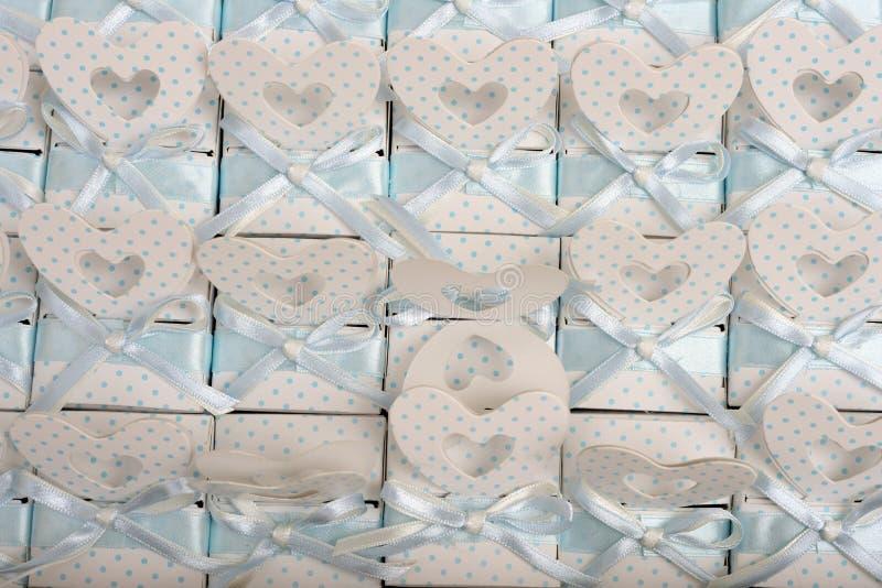Валентинка дает коробку стоковое изображение