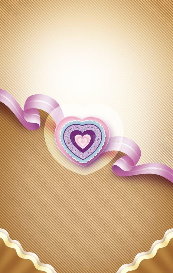 Валентинка card2 стоковое фото rf