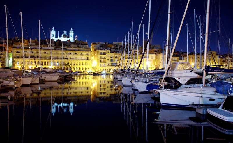 Валлетта Мальта стоковые изображения rf