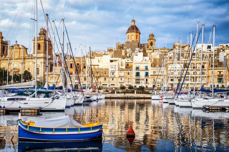 Валлетта - Мальта стоковое фото rf