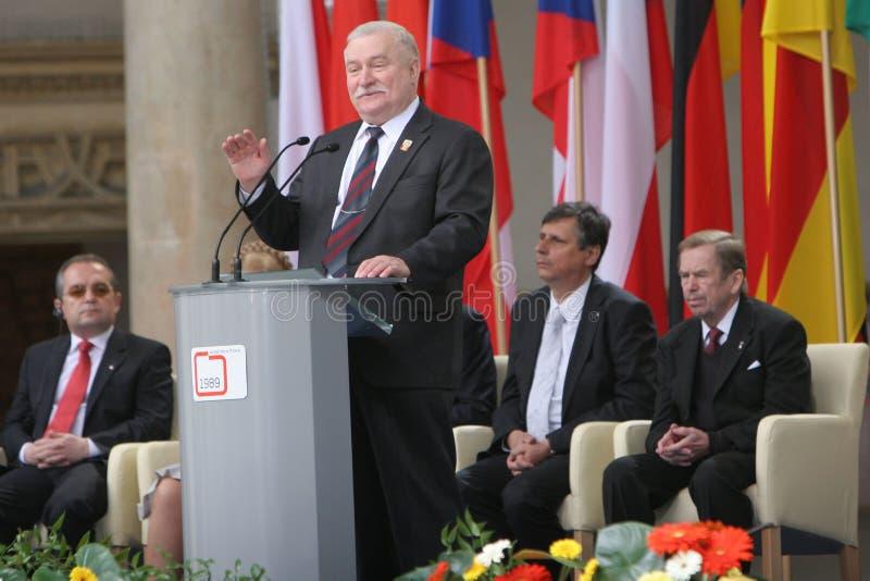двадцатая годовщина сброса давления коммунизма в Центральной Европе стоковая фотография rf