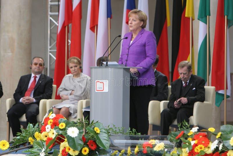 двадцатая годовщина сброса давления коммунизма в Центральной Европе стоковое изображение