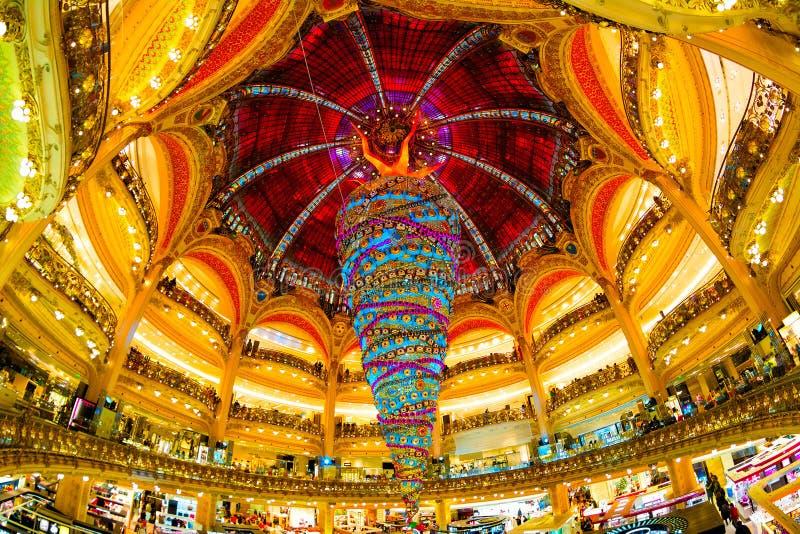 Вверх ногами рождественская елка стоковое изображение