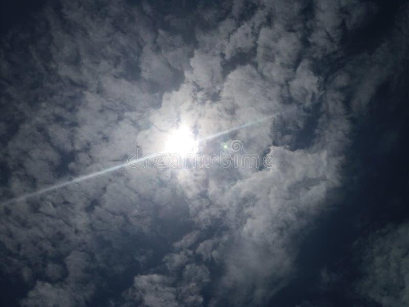 Вверх по в небу стоковое фото rf