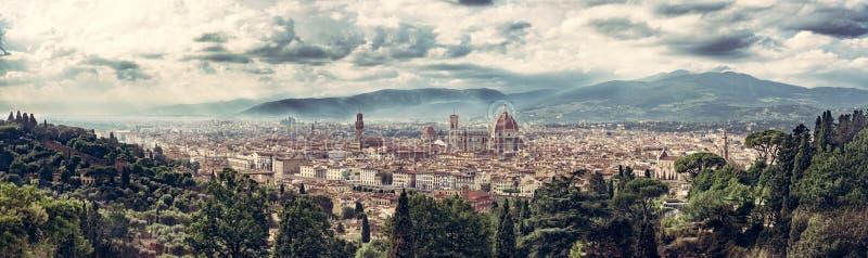 Вверх по Florencia стоковая фотография