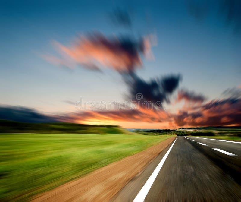 Вдоль дороги стоковая фотография