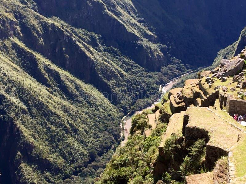 вдоль тропки inca стоковая фотография