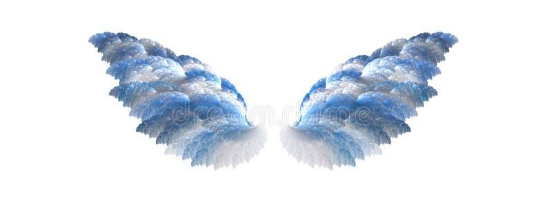 вдохновляющие крыла иллюстрация вектора