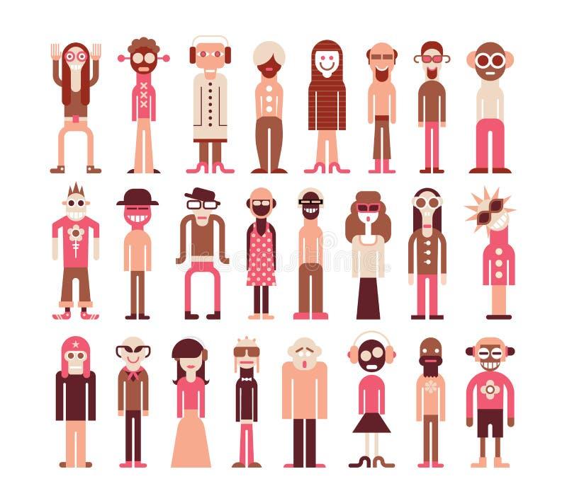 вебсайт сети проекта представления людей интернета икон применения ваш иллюстрация штока